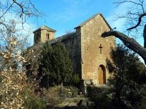 Iglesia de Santa Maria de la Serra de Castellar (Oliola)