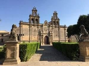 iglesia de santa maria de los reales alcazares ubeda