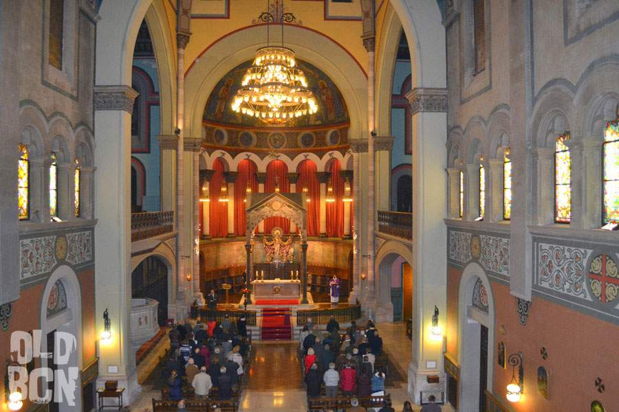 iglesia de santa maria de montalegre barcelona
