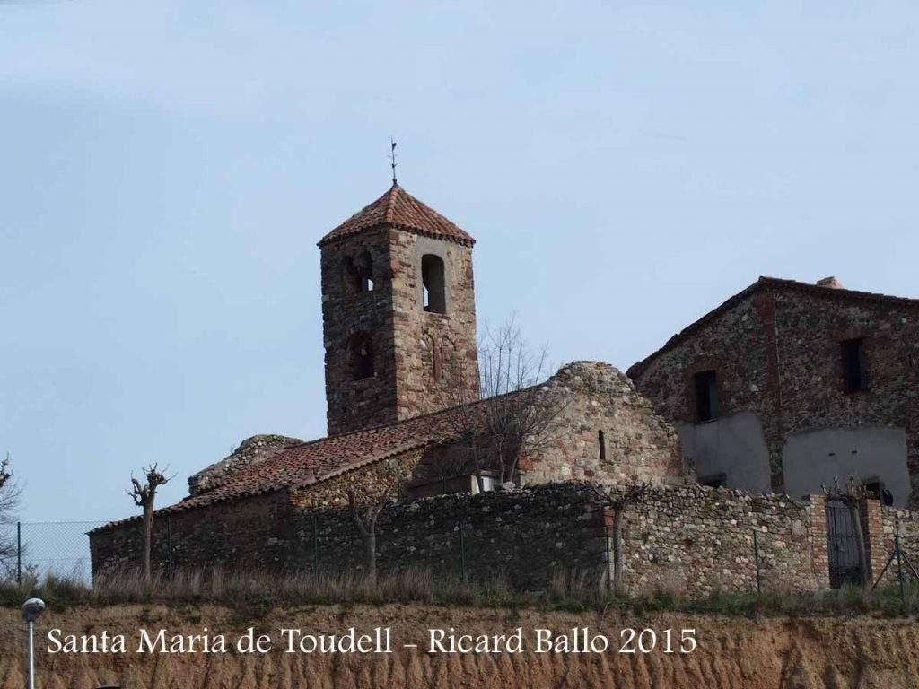 iglesia de santa maria de toudell viladecavalls