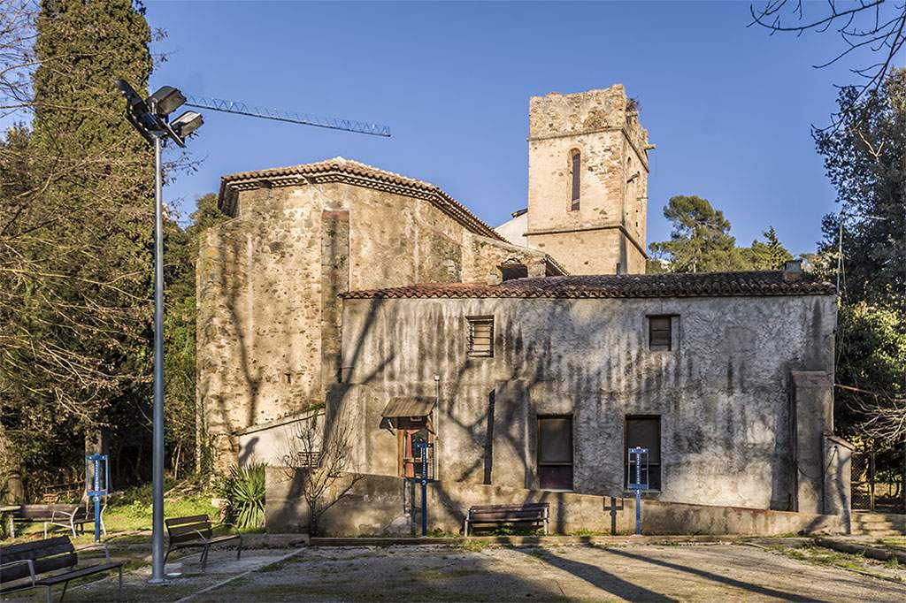 iglesia de santa maria de vallvidrera barcelona