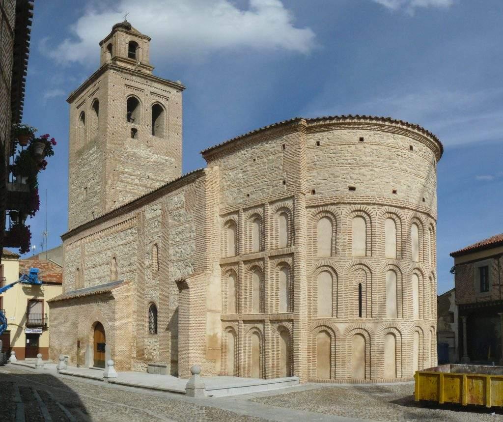 iglesia de santa maria la mayor arevalo