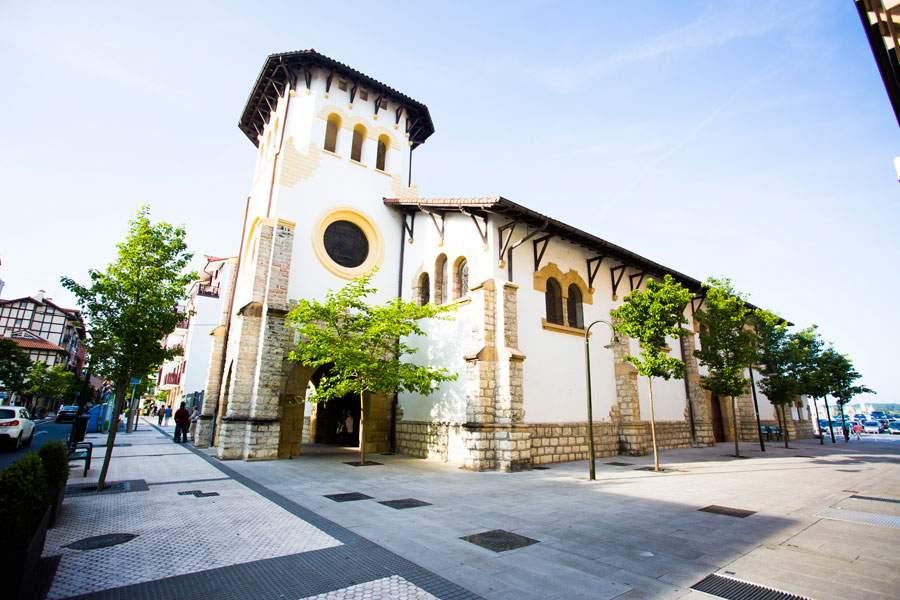 iglesia de santa maria magdalena la marina hondarribia