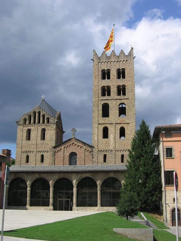 iglesia de santa maria ripoll