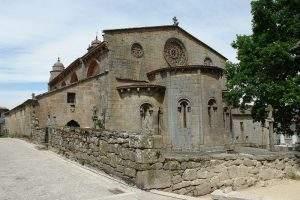 iglesia de santa marina de augas santas allariz