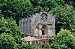 iglesia de santo estevo ribas de mino