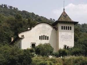iglesia del montanya aiguafreda