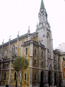 iglesia del sagrado corazon de salesas jesuitas oviedo