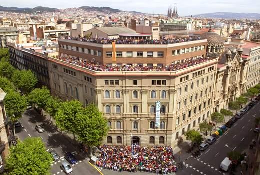iglesia del sagrat cor de jesus jesuites barcelona