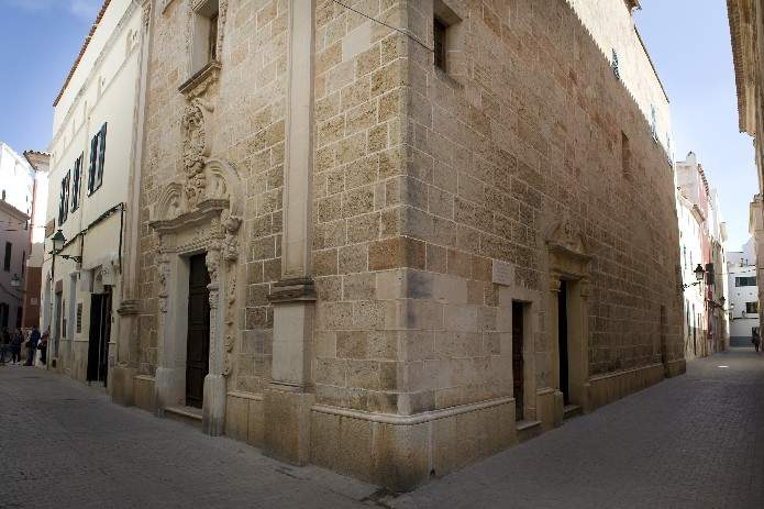 iglesia del sant crist ciutadella de menorca