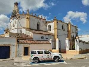 iglesia del santisimo cristo del rosario zafra