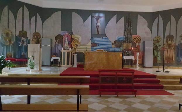iglesia del santo angel marbella