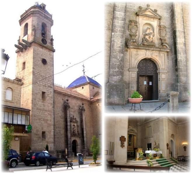 iglesia excolegiata de santiago castellar de santisteban