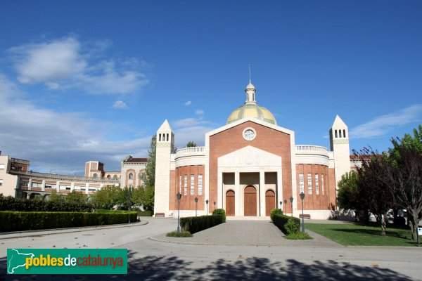 iglesia mare de deu del pilar residencia mare rafols vilafranca del penedes