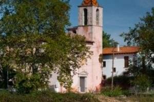 Iglesia vella de Sant Cristòfol (Begues)