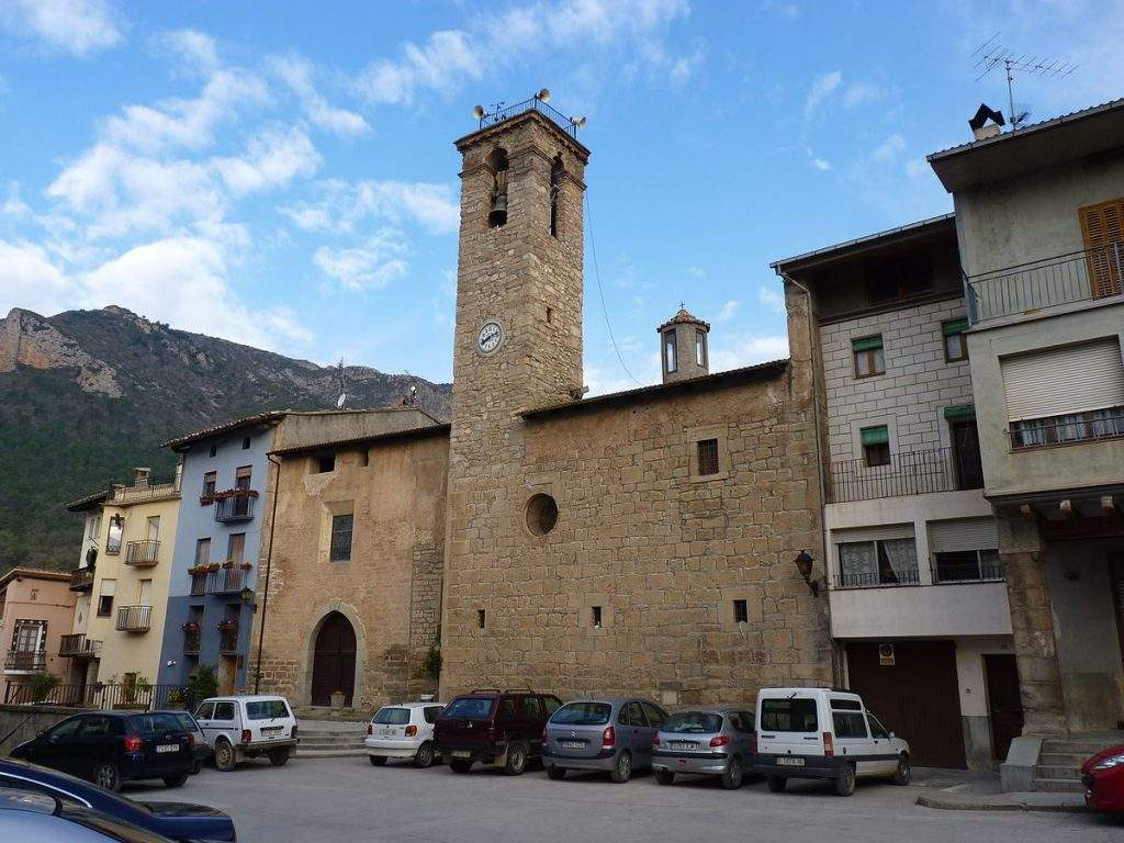 iglesia vella de sant miquel peramola