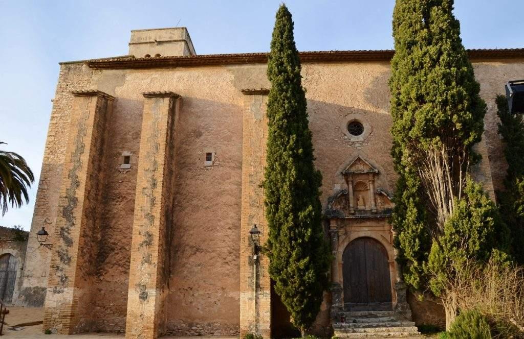 iglesia vella de sant pere sant pere de ribes