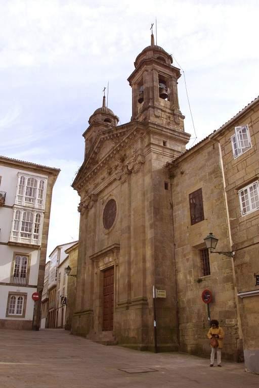 igrexa de san miguel dos agros santiago de compostela
