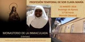 Monasterio de la Inmaculada (Clarisas) (Monzón)