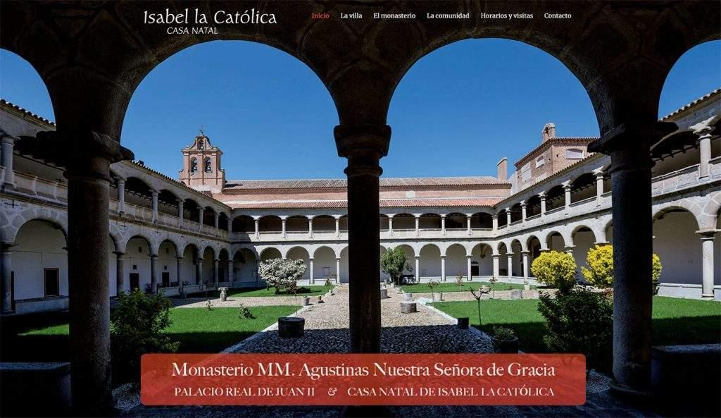 monasterio de nuestra senora de gracia agustinas madrigal de las altas torres
