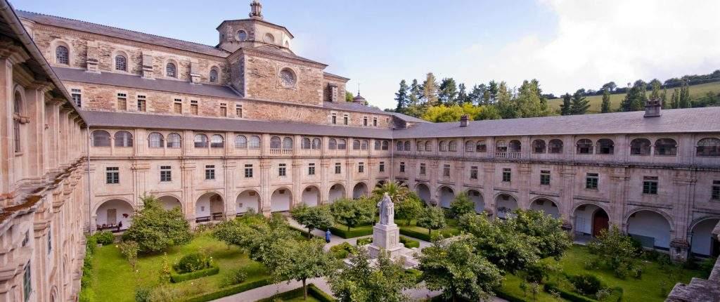 monasterio de san julian de samos benedictinos samos