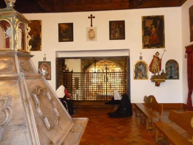 monasterio de santa isabel la real franciscanas clarisas granada