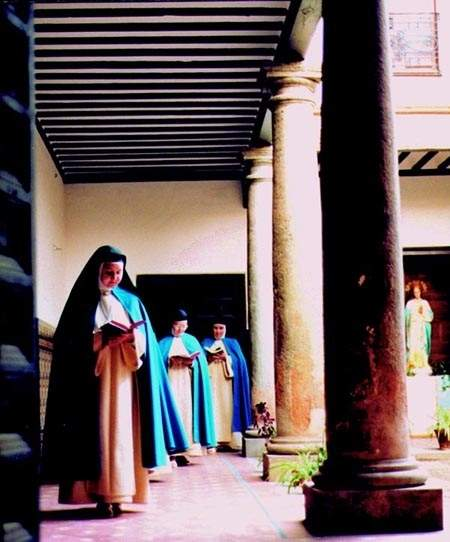 monasterio del creador y de la inmaculada concepcionistas campo de criptana