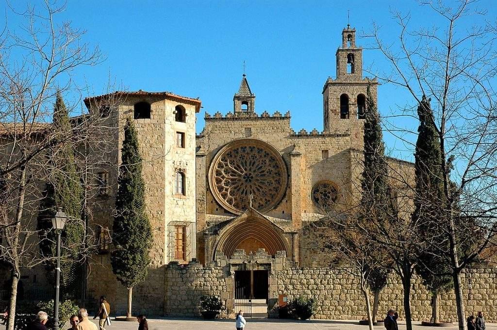 monestir de la mare de deu dels angels convent de sant domenec sant cugat del valles