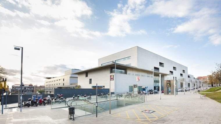 nou hospital de la santa creu i sant pau barcelona