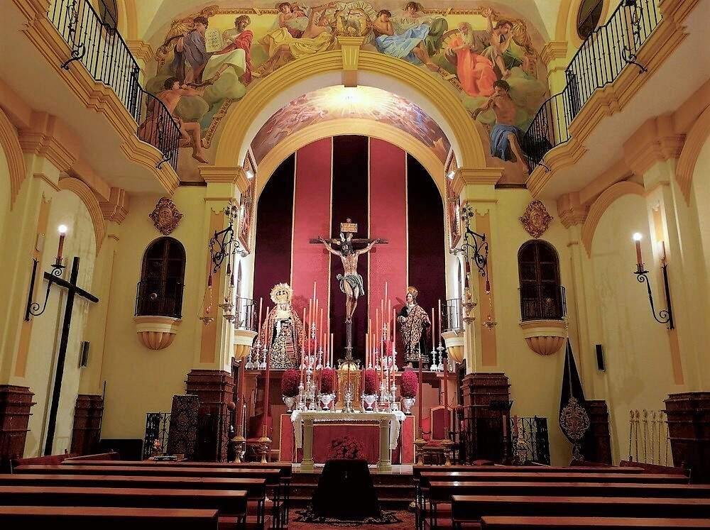 oratorio de san jose hermandad de las penas malaga
