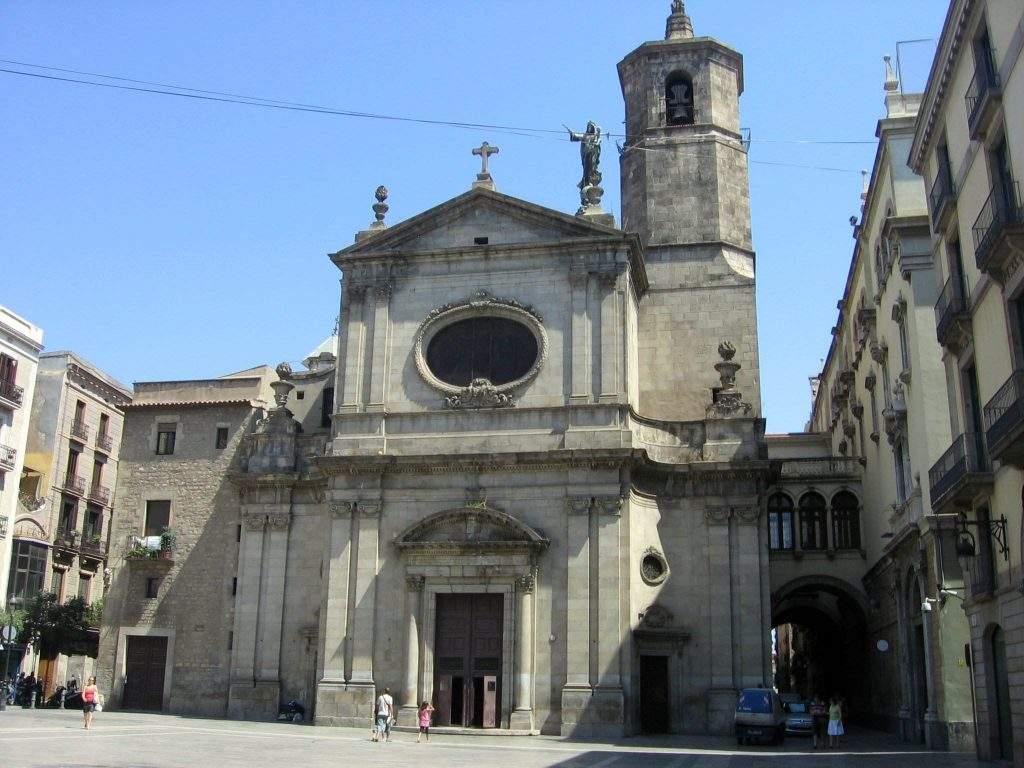 parroquia basilica de la mare de deu de la merce i sant miquel arcangel barcelona