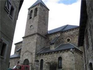 parroquia de el salvador lanuza sallent de gallego