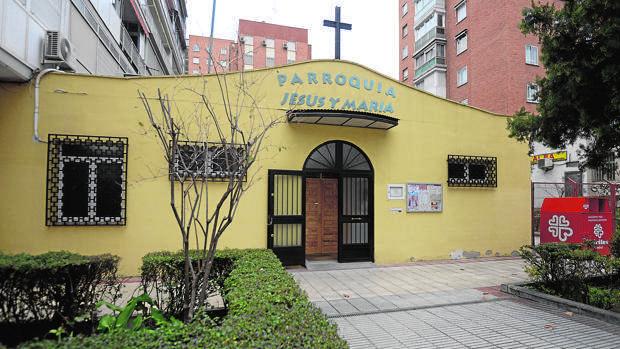 parroquia de jesus y maria madrid
