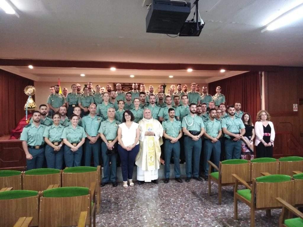 parroquia de la academia de la guardia civil baeza