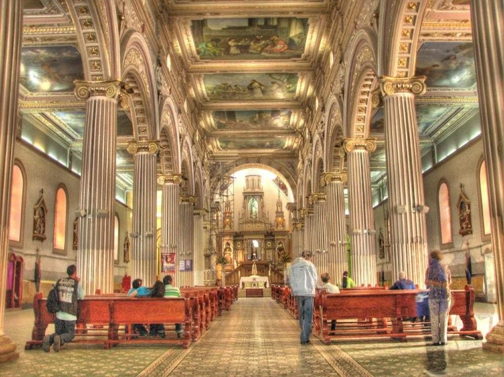 parroquia de la catedra de san pedro en antioquia pesaguero