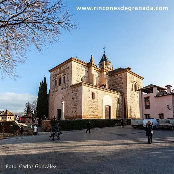 parroquia de la encarnacion iglesia de santa maria de la alhambra granada