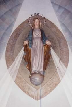 parroquia de la mare de deu de la medalla miraculosa barcelona