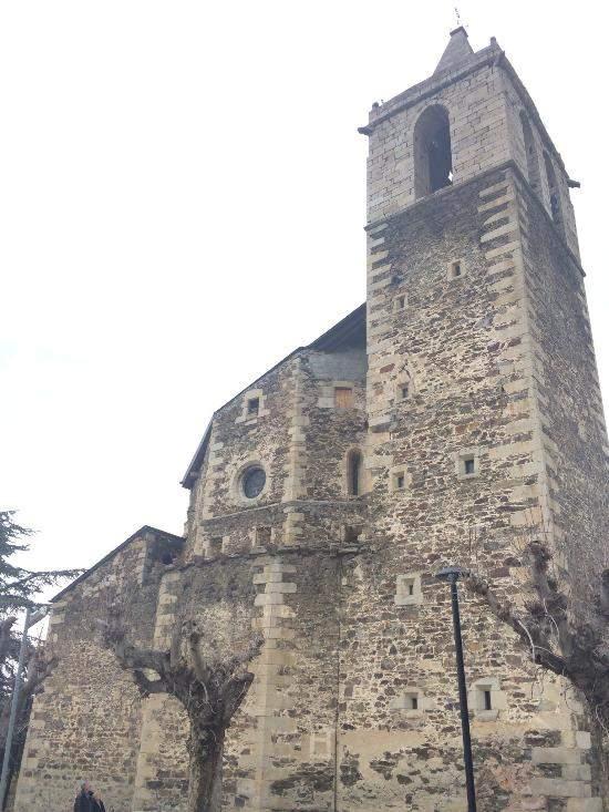 parroquia de la mare de deu dels angels llivia