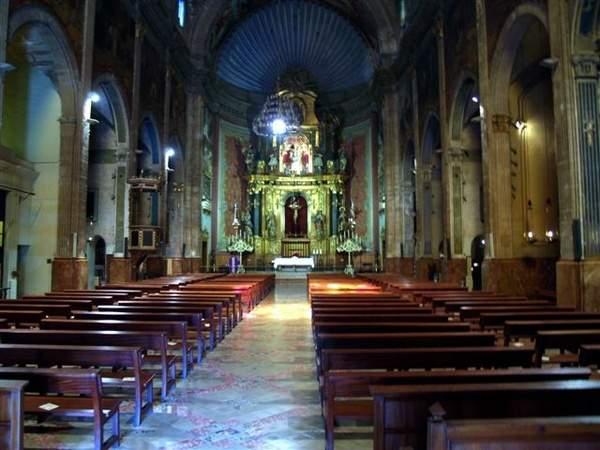 parroquia de la mare de deu dels angels pollenca