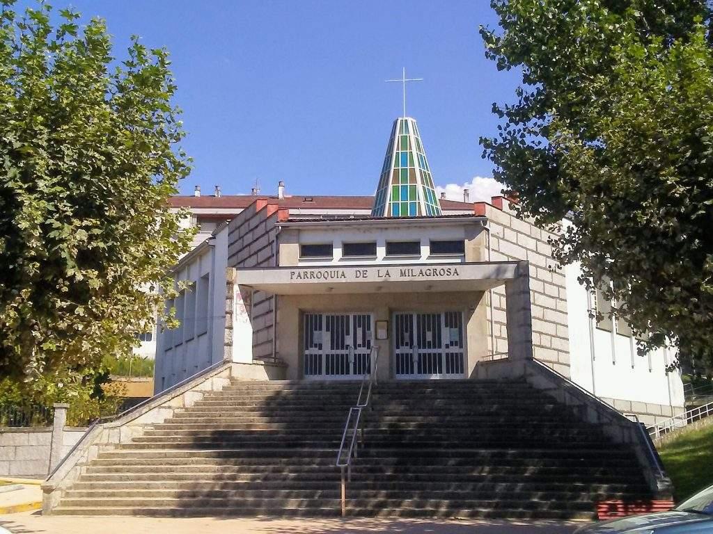 parroquia de la milagrosa cruz alta ourense