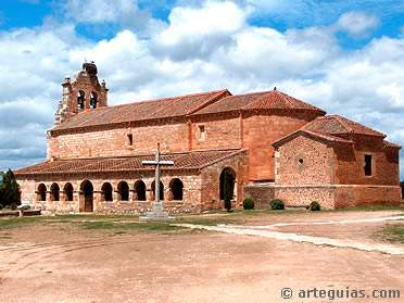 parroquia de la natividad santa maria de riaza