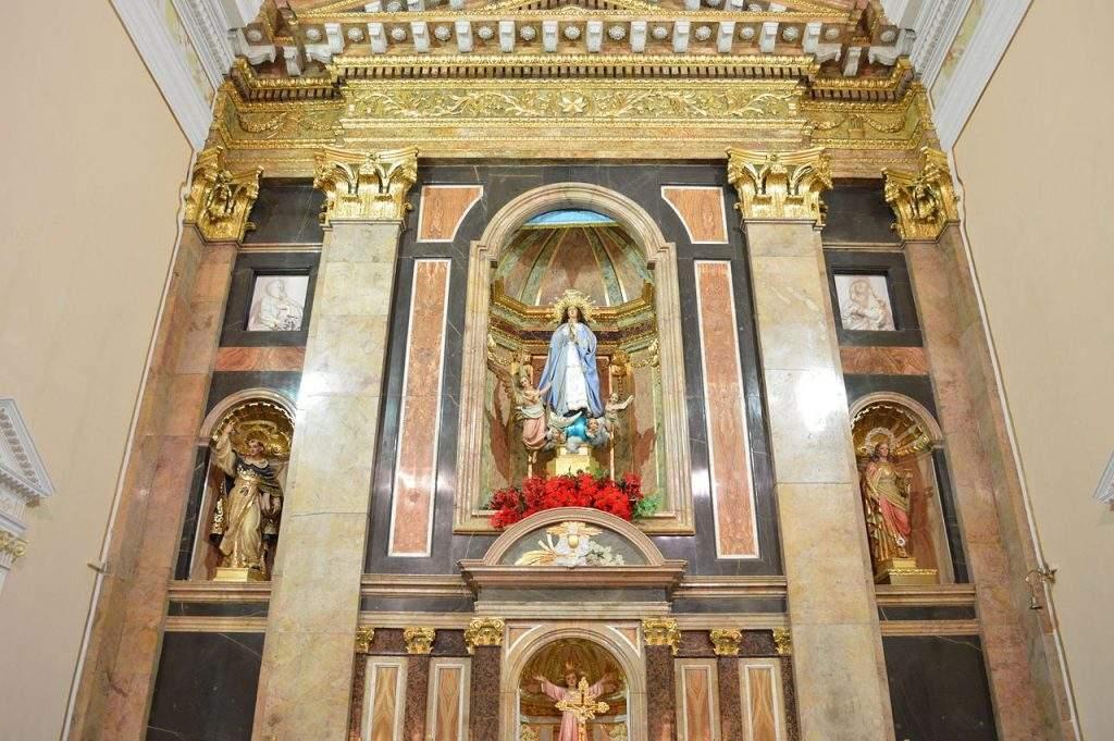 parroquia de la purisima concepcion pedralba