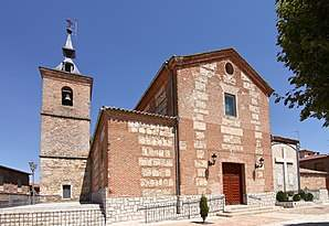 parroquia de la santa cruz castillo del romeral