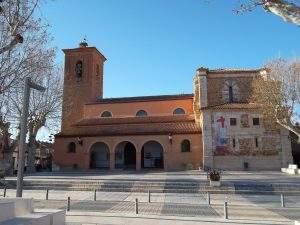 parroquia de la santa cruz marchamalo