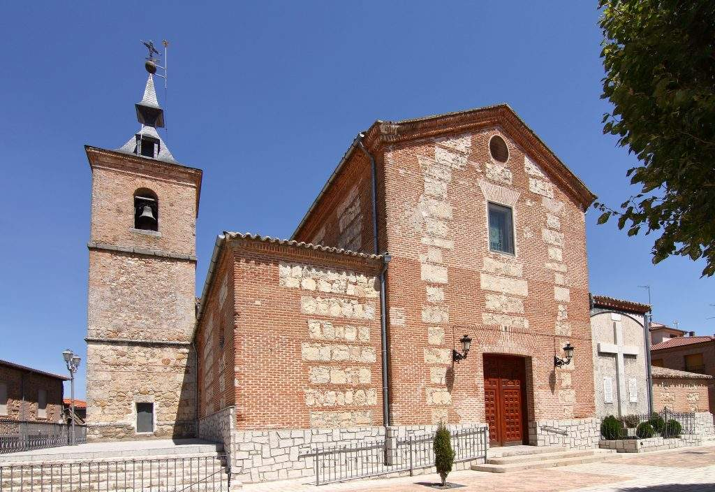 parroquia de la santa cruz santa cruz del retamar