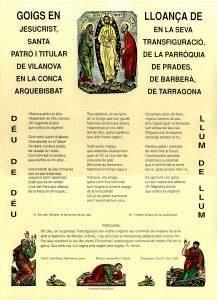 parroquia de la transfiguracio del senyor vilanova de prades