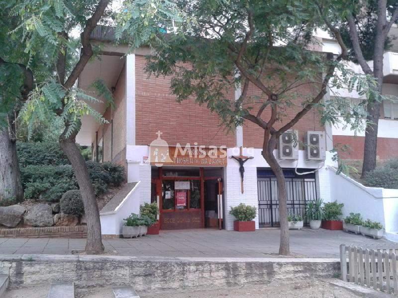 parroquia de la verge de natzaret barcelona