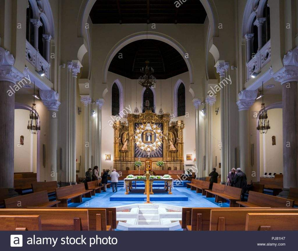 parroquia de la virgen de la candelaria madrid