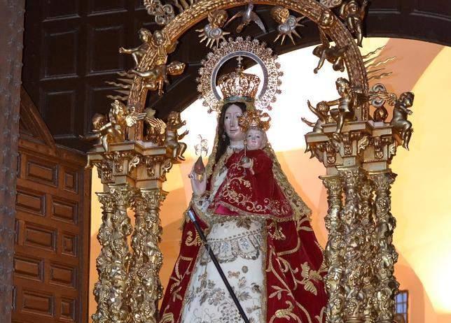 parroquia de la virgen de la caridad camarena
