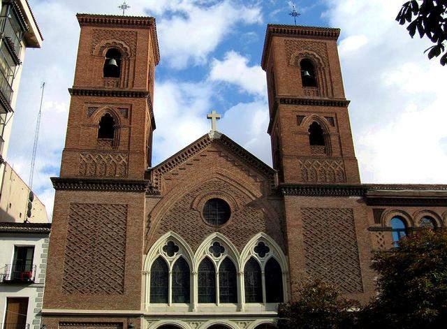 parroquia de la virgen de la paloma y san pedro el real madrid